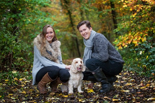 Autumn family photography Oxfordshire