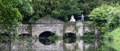 Natural wedding photography Stowe Park