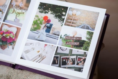 Example Wedding Album Merriscourt Barn