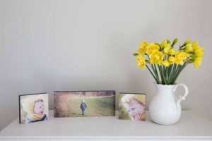 Photo frames for family photographs Mary Smith Oxfordshire