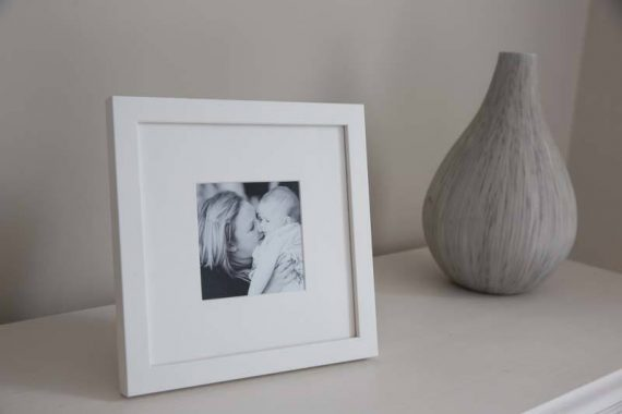 Lovely Frames for displaying family photographs from Mary Smith Oxford