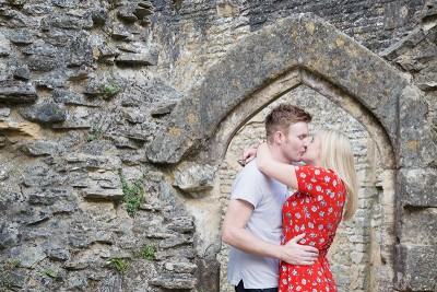 Engagement Photos Minster Lovell Oxfordshire