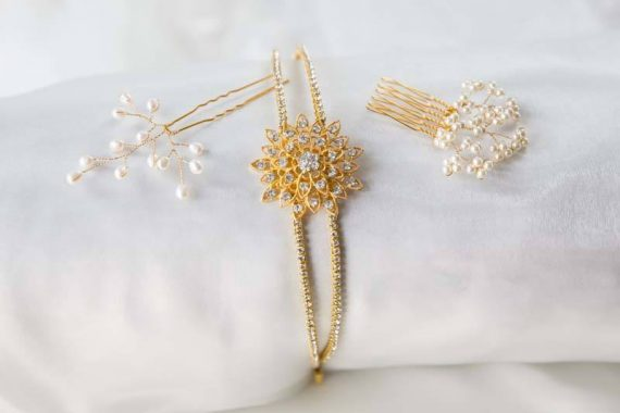 Wedding accessories product photography Oxfordshire
