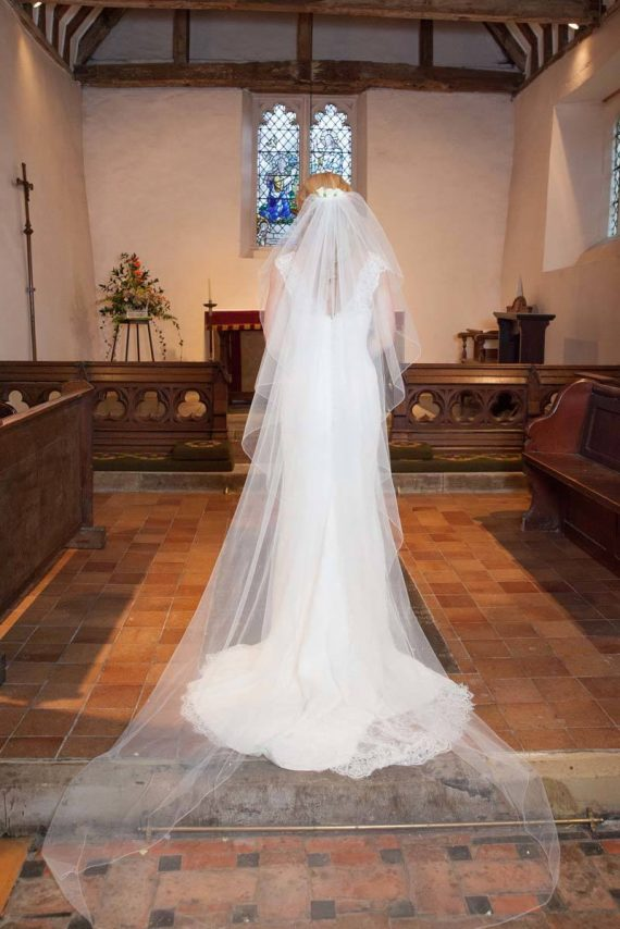 At St Lawrence Church Hinksey Oxford fine art wedding photography
