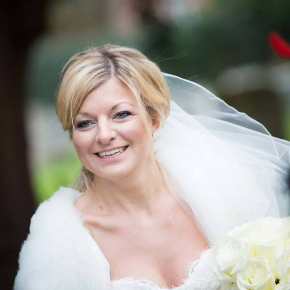 The bride looking gorgeous fine art wedding photography Oxfordshire