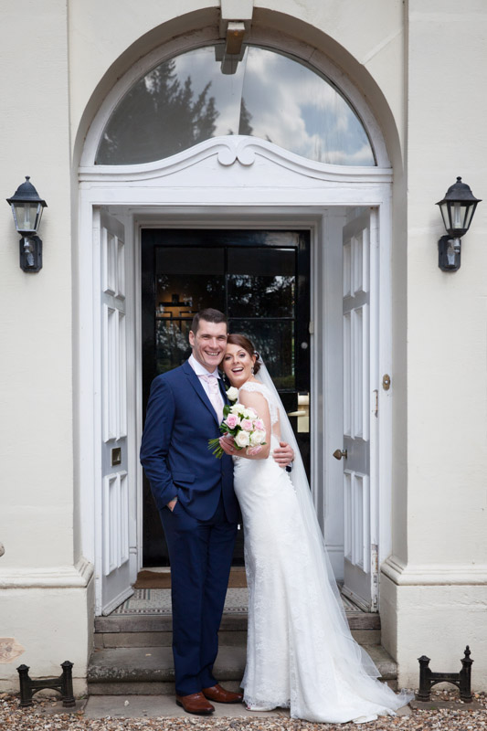 Documentary wedding photography at Steventon House Oxfordshire