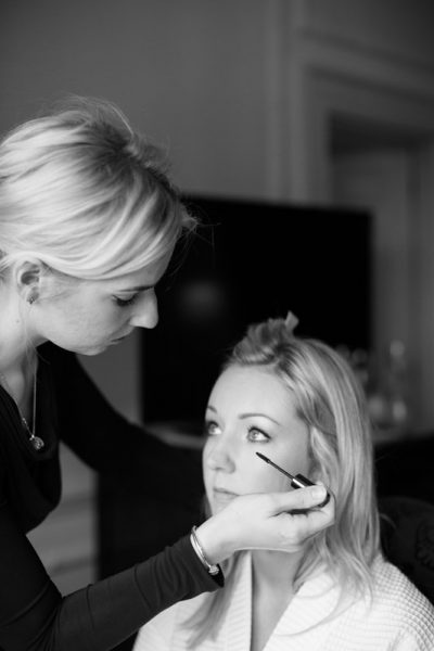 Bridal make up at Danesfield House Buckinghamshire