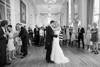 First Dance at Danesfield House Wedding in Buckinghamshire