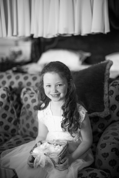 Child at wedding Danesfield House Buckinghamshire