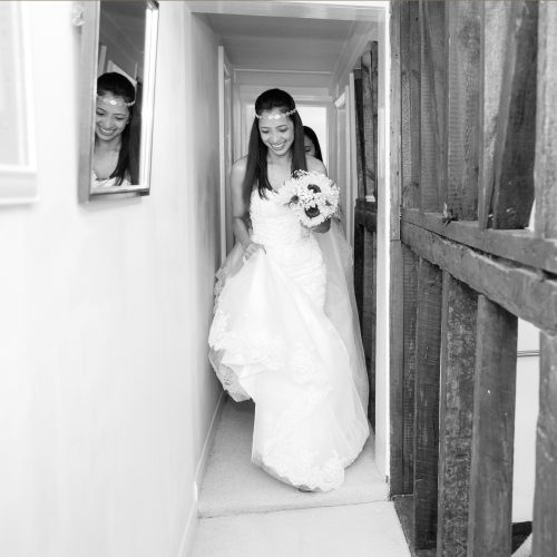 Documentary Wedding Photography at the Crown Inn Pishill