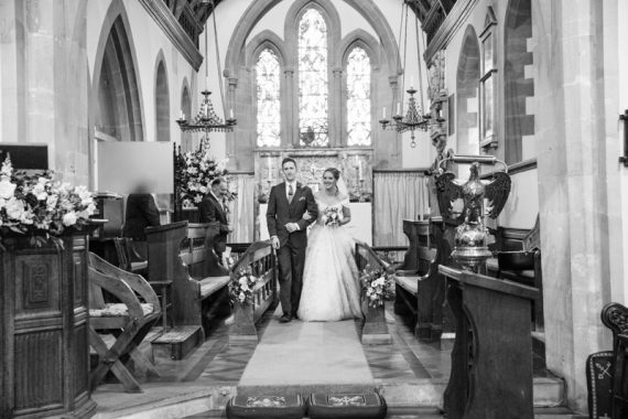 Natural wedding photographer Shiplake Church, Berkshire