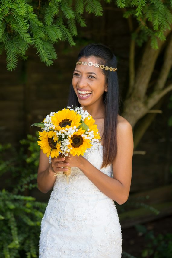 Professional wedding photographer at the Crown Inn Pishill Oxfordshire
