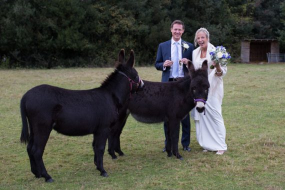 Amusing wedding photograph at Bix Manor
