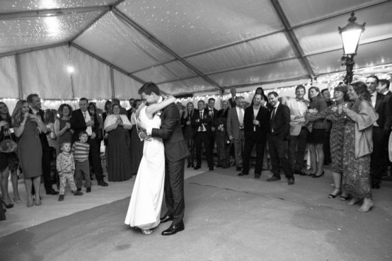 First dance at Bix Manor Wedding