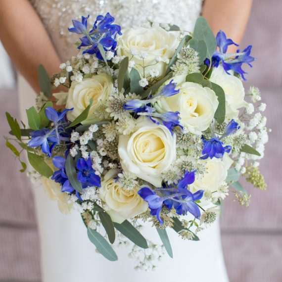 Beautiful bridal bouquet at Henley Wedding