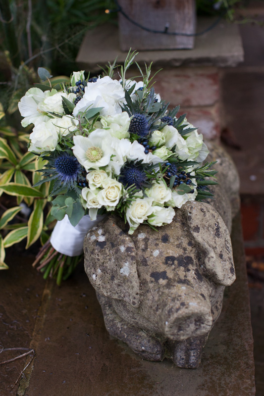 Bridal bouquet at Henley Wedding