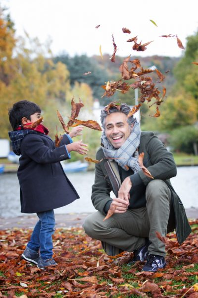 Throwing leaves at Henley