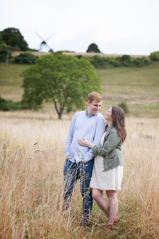 Engagement shoot at Turville