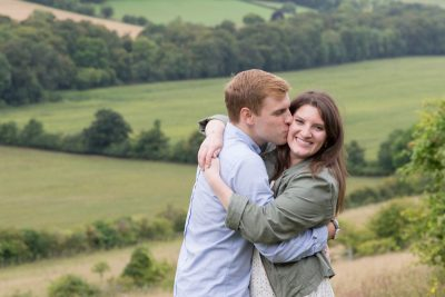 Engagement shoot near Turville
