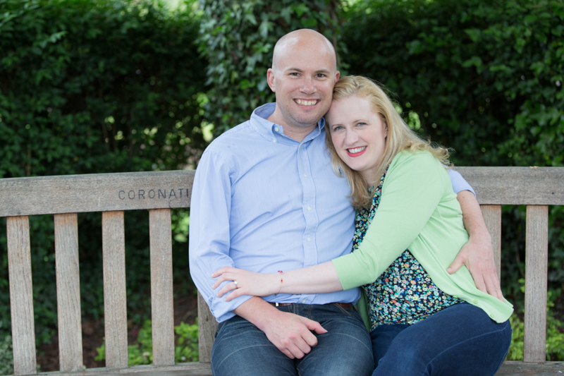 Couple on their pre wedding shoot in Henley on Thames