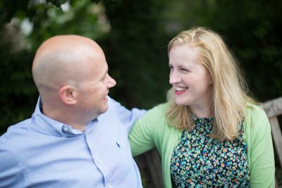 Natural shot taken on engagement shoot in Henley on Thames