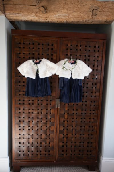 Cute flower girl outfits at Wasing Park