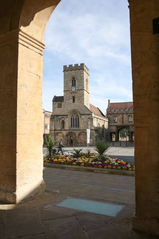 View of St Nicolas Church in Abingdon