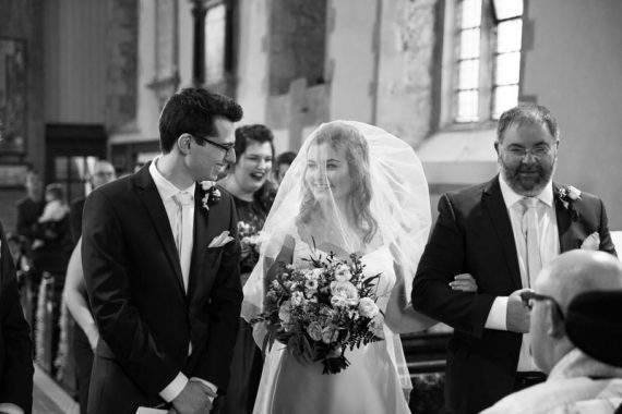 First look at Abingdon Wedding