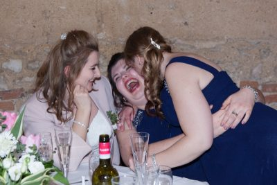 Fun at Crown and Thistle Wedding Abingdon