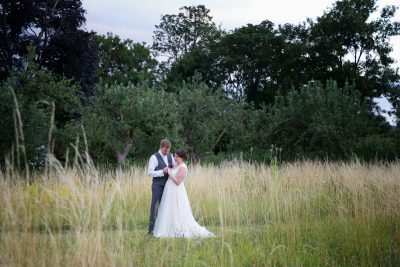 Bride and Groom at Shiplake College Wedding