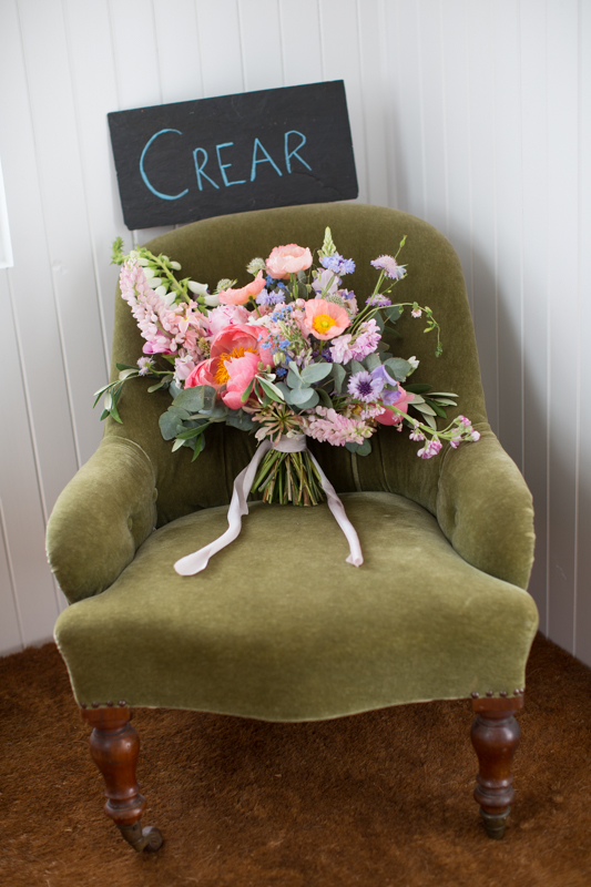 Wedding flowers at Crear