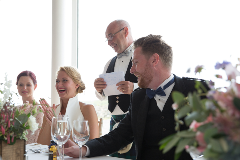 Father of the bride speech at Crear wedding