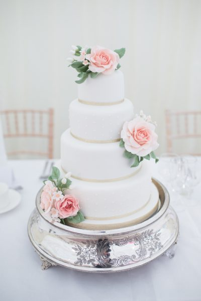 Cake at Shiplake College Wedding