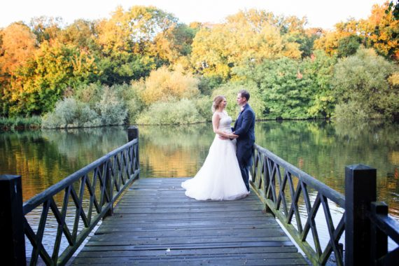 Autumn Wedding at Oakley Court, Berkshire