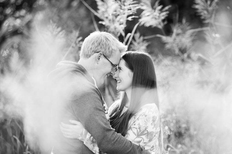 Couple on engagement shoot in Henley