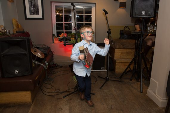 Young dancer at The Cricketers in Warfield in Berkshire