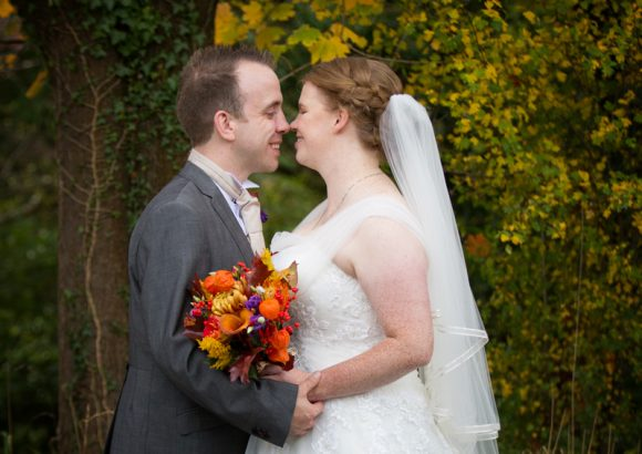 Autumnal wedding at Crown Inn Pishill