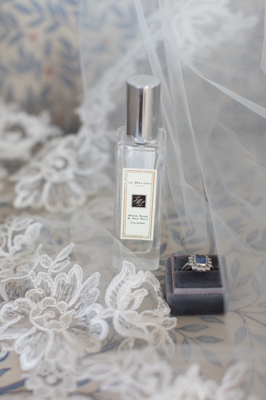 Pretty wedding details at styled shoot at Manor House Hotel
