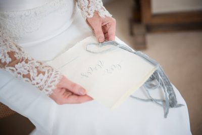 Wedding details at Weston Manor House styled shoot