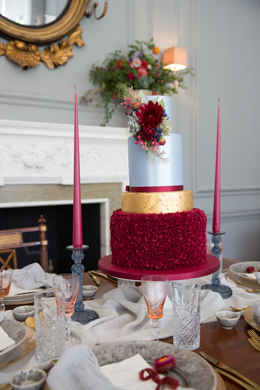 Styled shoot Old World Glamour at Weston Manor House