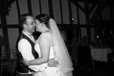 Couple face to face dancing at Crown Inn Pishill