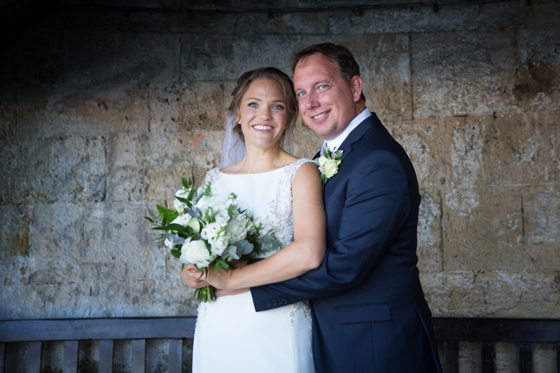 Couple at their wedding in Henley on Thames