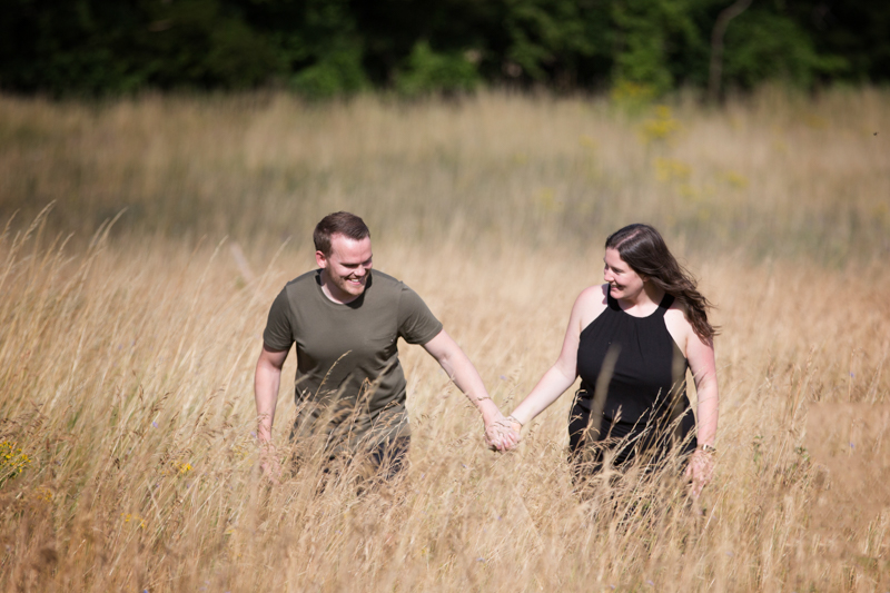 engagement shoot near High Wycombe
