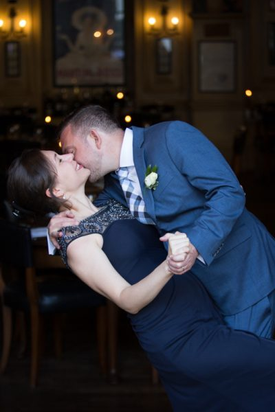 Dancing and having fun at a wedding in Hotel du Vin in Henley on Thames