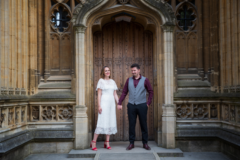 Wedding photo shoot in Oxford