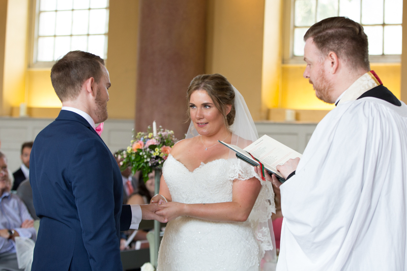 Getting married at St Lawrence Church in West Wycombe
