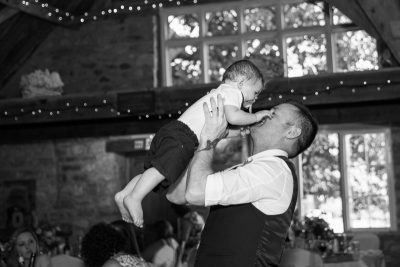 Guests at Notley Tythe Barn Wedding
