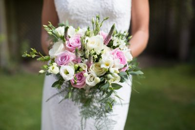 Beautiful summer wedding bouquet
