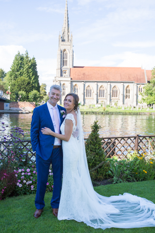Wedding portrait in Marlow