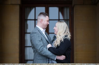 Beautiful couple at their pre wedding shoot in Oxfordshire